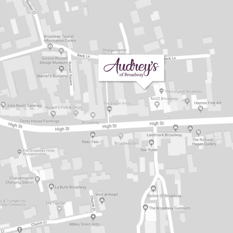 Map of Broadway Cotswolds