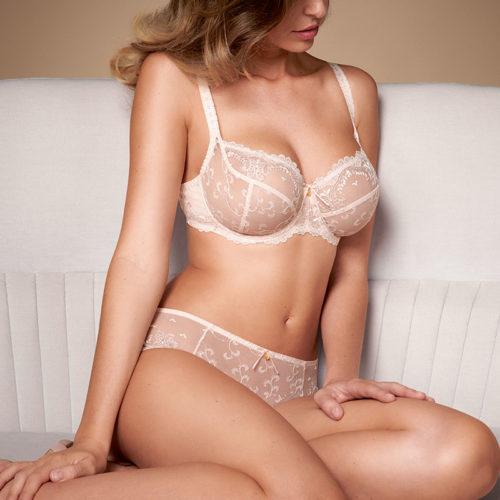 Empreinte carmen rose amour lingerie