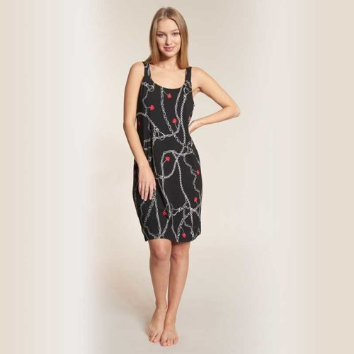 Feraud Beach Dress Noir