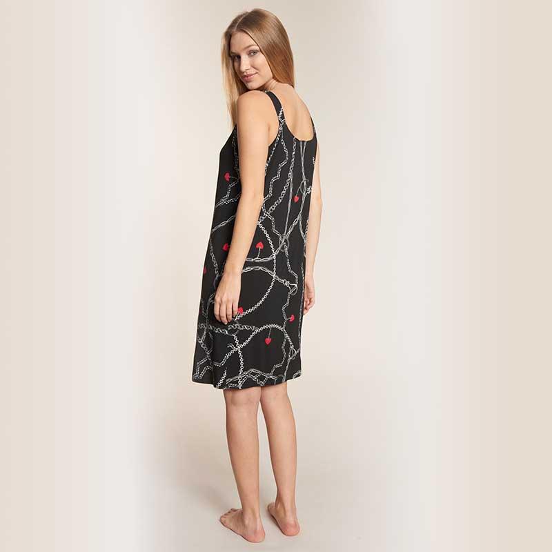 Feraud Beach Dress Noir