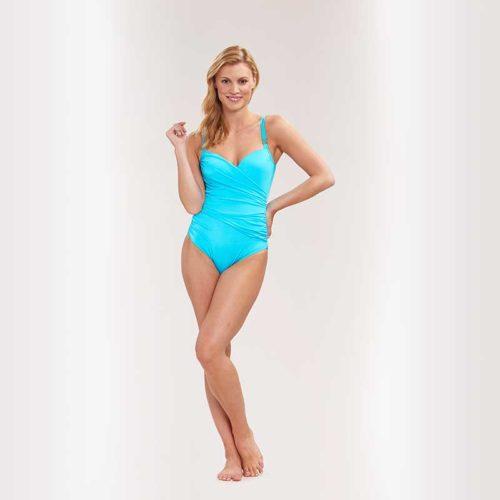 Feraud turquoise swimsuit
