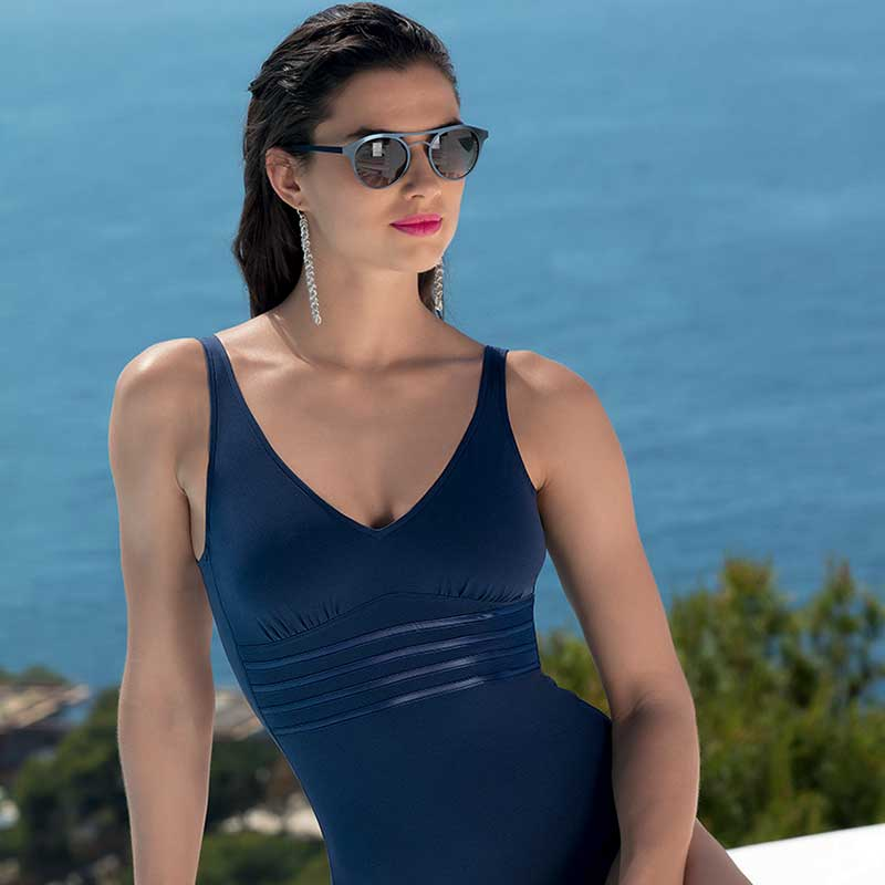Lise Charmel Sporty Plage Swimsuit Nuit Cobalt