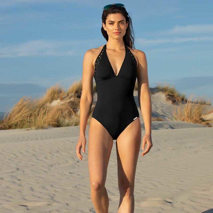 Lise Charmel Ajourage Couture Swimsuit Noir