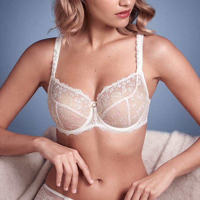 Empreinte Flora Poudre lingerie set