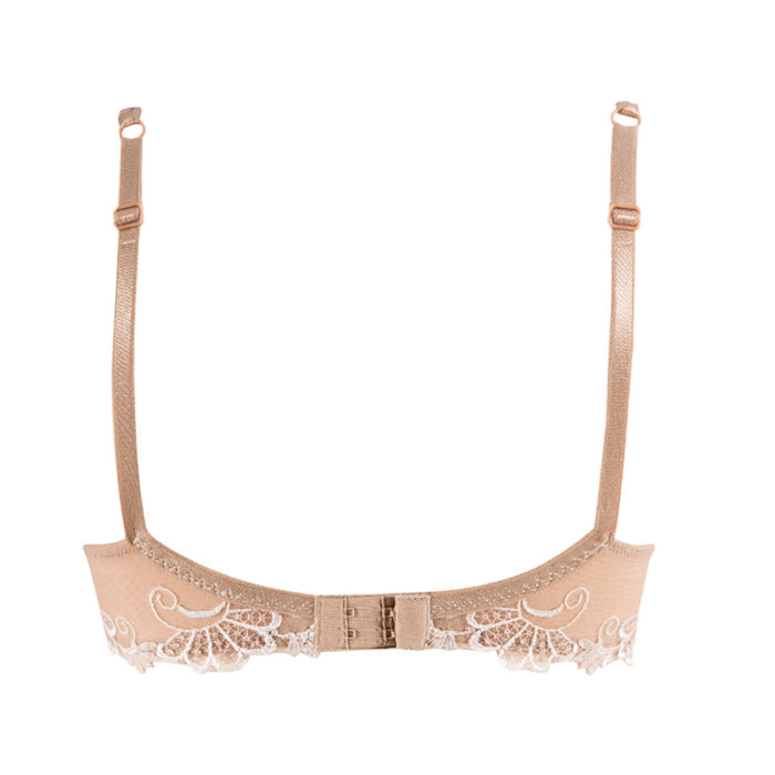 Lise Charmel Dressing Floral Ambre Nacre guipure charming underwire bra