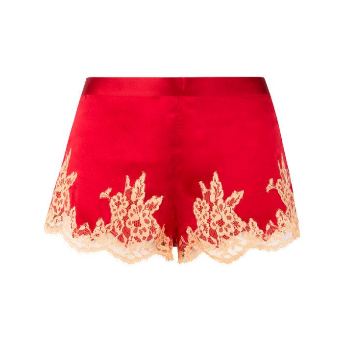 Lise Charmel Splendeur Soie Grenade shorts