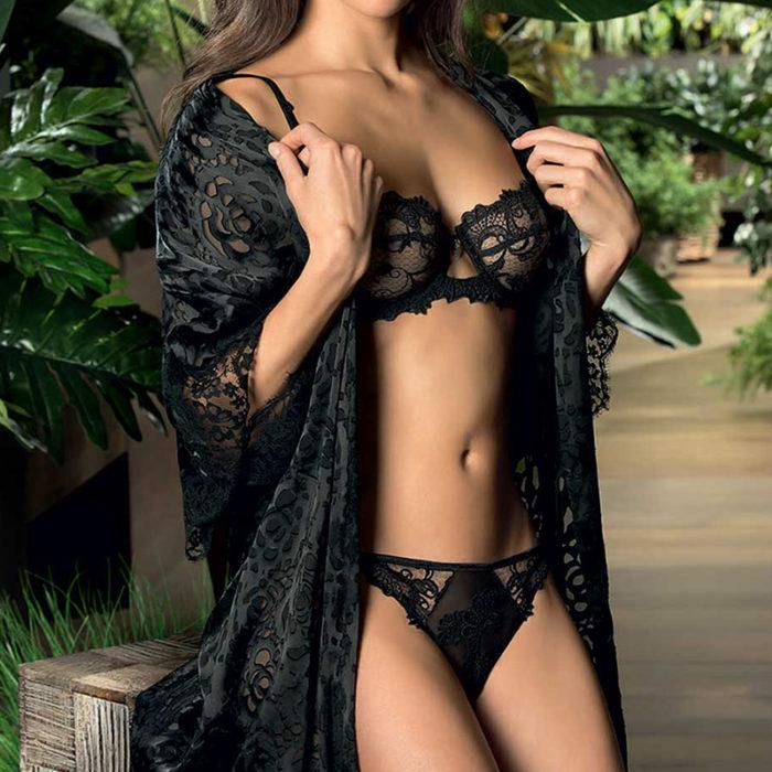 Lise Charmel Dressing Floral Noir
